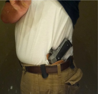 Holster review – Tucker Gun Leather Texas Heritage